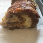 Cheesy-Potato Bacon Wrapped Venison Roll